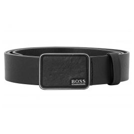 Boss 50413038-001 Men's Belt Sem Black