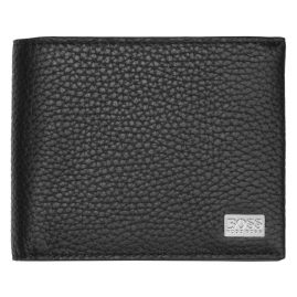 Boss 50390390 Mens Wallet Crosstown Trifold Black