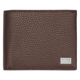 Boss 50390390 Mens Wallet Crosstown Trifold Pastel Brown