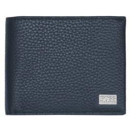 Boss 50390390 Men's Wallet Crosstown Trifold Blue