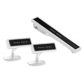 Boss 50403078 Gift Set Tie Clip and Cufflinks