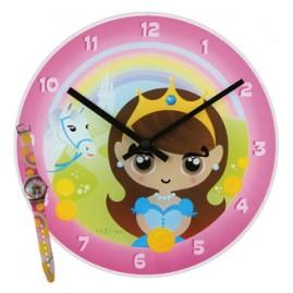 NeXtime 8622 Princess Uhren-Set für Mädchen