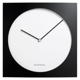 Jacob Jensen JJ-320 Quartz Wall Clock Black/White