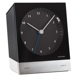 Jacob Jensen 32351 Radio-Controlled Alarm Clock Black