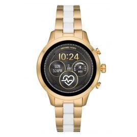 Michael Kors Access MKT5057 Damenuhr Smartwatch Runway Goldfarben/Weiß