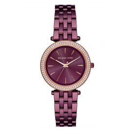 Michael Kors MK3725 Ladies Watch Mini Darci Purple