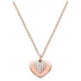 Michael Kors MKC1120AN791 Damen-Halskette Love Rosé
