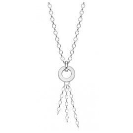 trendor 63096 Silver Charms Necklace