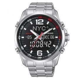 Pulsar PZ4001X1 Mens Watch AnaDigi Rally