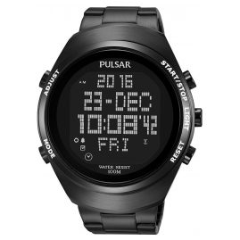 Pulsar PQ2057X1 Mens Digital Watch Pulsar X
