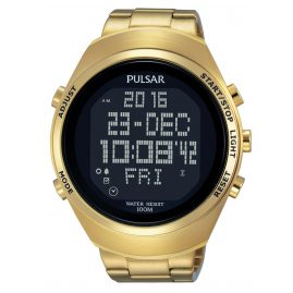 Pulsar PQ2056X1 Herrenuhr Digital-Chronograph Pulsar X