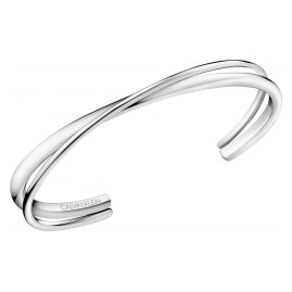 Calvin Klein KJ8XMF0002 Ladies Bangle Bracelet Double Thin