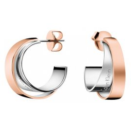 Calvin Klein KJ5ZPE200100 Earrings Unite Two-Tone