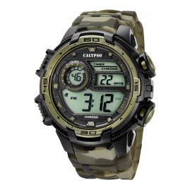 Calypso K5723/6 Mens Digital Watch Camouflage