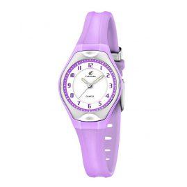 Calypso K5163/N Mädchen-Armbanduhr Lila