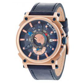 Police PL15048JSR.03 Herrenuhr Compass Blau