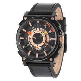 Police PL15048JSB.02 Herrenuhr Compass Black/Rose