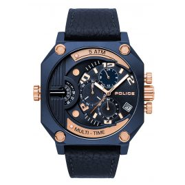 Police PL15385JSBL.03 Multifunction Men's Watch Furnace