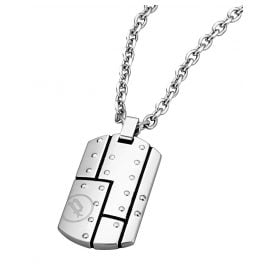 Police PJ26204PSS.01 Gents Necklace Aeroplane