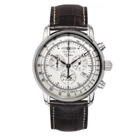 Zeppelin 7680-1 Graf Zeppelin Chronograph Mens Watch