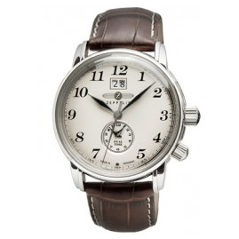 Zeppelin 7644-5 Dual-Time Gents Watch