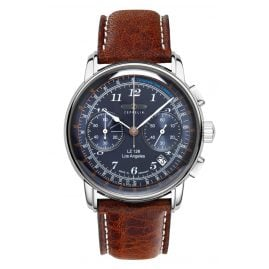 Zeppelin 7614-3 Mens Chronograph LZ126 Los Angeles