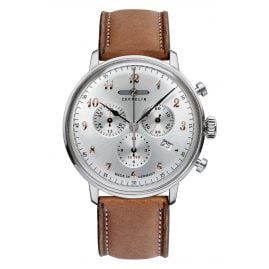Zeppelin 7088-5 Mens Watch Chronograph LZ129 Hindenburg Ed. 1