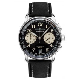 Zeppelin 8674-3 Mens Watch Chronograph LZ127 Graf Zeppelin