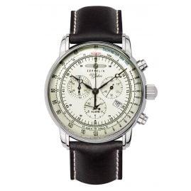 Zeppelin 8680-3 Alarm-Herrenchronograph 100 Jahre Zeppelin