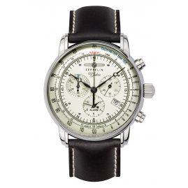 Zeppelin 8680-3 Men's Alarm Chronograph 100 Jahre Zeppelin