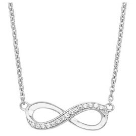 s.Oliver 2012527 Damen Silber-Halskette