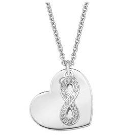 s.Oliver 2015119 Silber Damenkette Infinity
