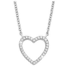 s.Oliver 2017258 Silber Damen-Halskette Herz