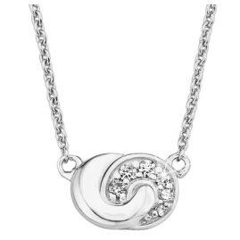 s.Oliver 2017186 Silber-Collier für Damen