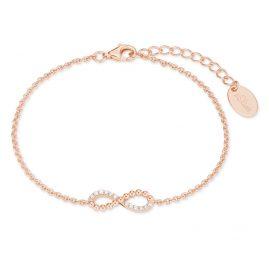s.Oliver 2022746 Damen-Armkette Unendlichkeit