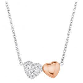 s.Oliver 2024207 Silber Damenkette mit Herzanhänger