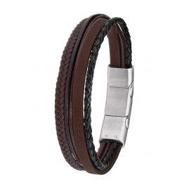 s.Oliver 2015059 Herren Leder-Armband