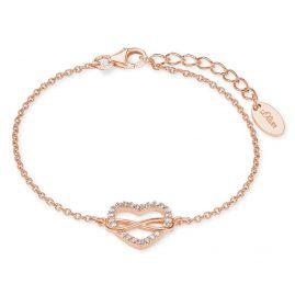 s.Oliver 2020990 Damenarmband Unendliche Liebe Rosé
