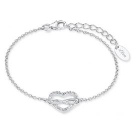 s.Oliver 2020972 Silver Ladies' Bracelet Infinite Love