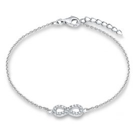 s.Oliver 2018833 Mädchen-Armband Infinity