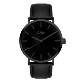s.Oliver SO-3374-LQ Ladies Watch Black