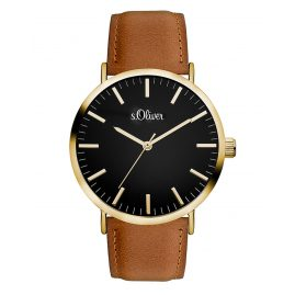 s.Oliver SO-3375-LQ Ladies Watch with Leather Strap