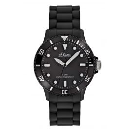 s.Oliver SO-2290-PQ Wrist Watch Black