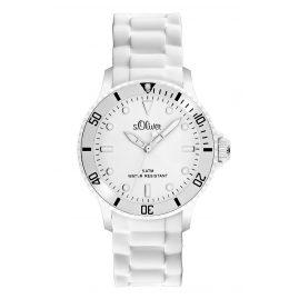 s.Oliver SO-2291-PQ Unisex Armbanduhr Weiß