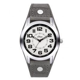 s.Oliver SO-3382-LQ Armbanduhr Grau