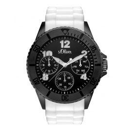 s.Oliver SO-3294-PM Herren-Armbanduhr mit Multifunktion