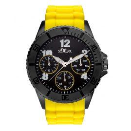 s.Oliver SO-3296-PM Herren-Armbanduhr mit Multifunktion