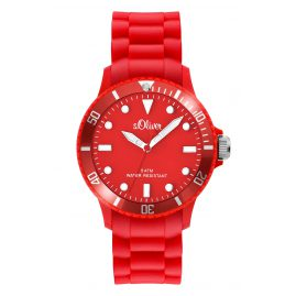 s.Oliver SO-2423-PQ Armbanduhr Rot