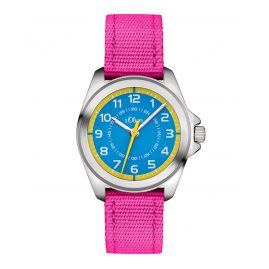 s.Oliver SO-3227-LQ Kids Watch for Girls Pink/Blue