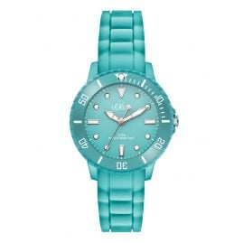 s.Oliver SO-3300-PQ Kids Watch Silicone Strap Turquoise